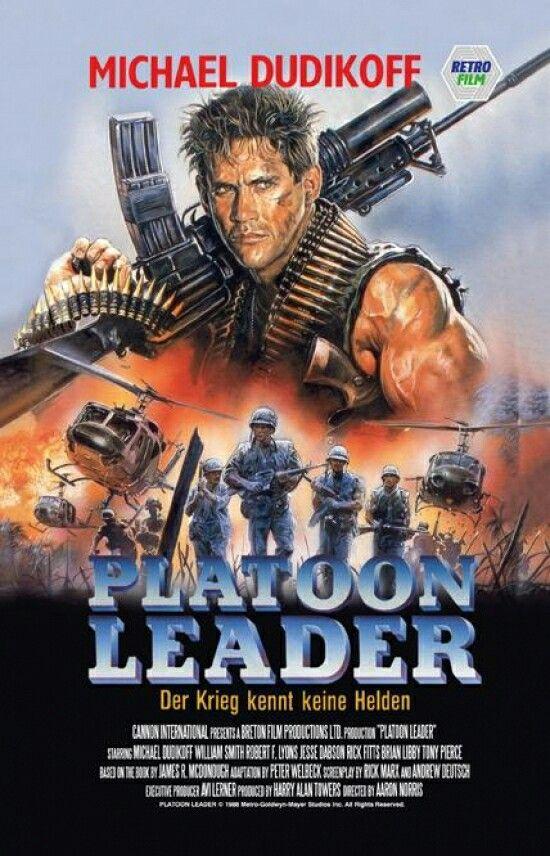 Platoon Leader Movie Covers Film Posters