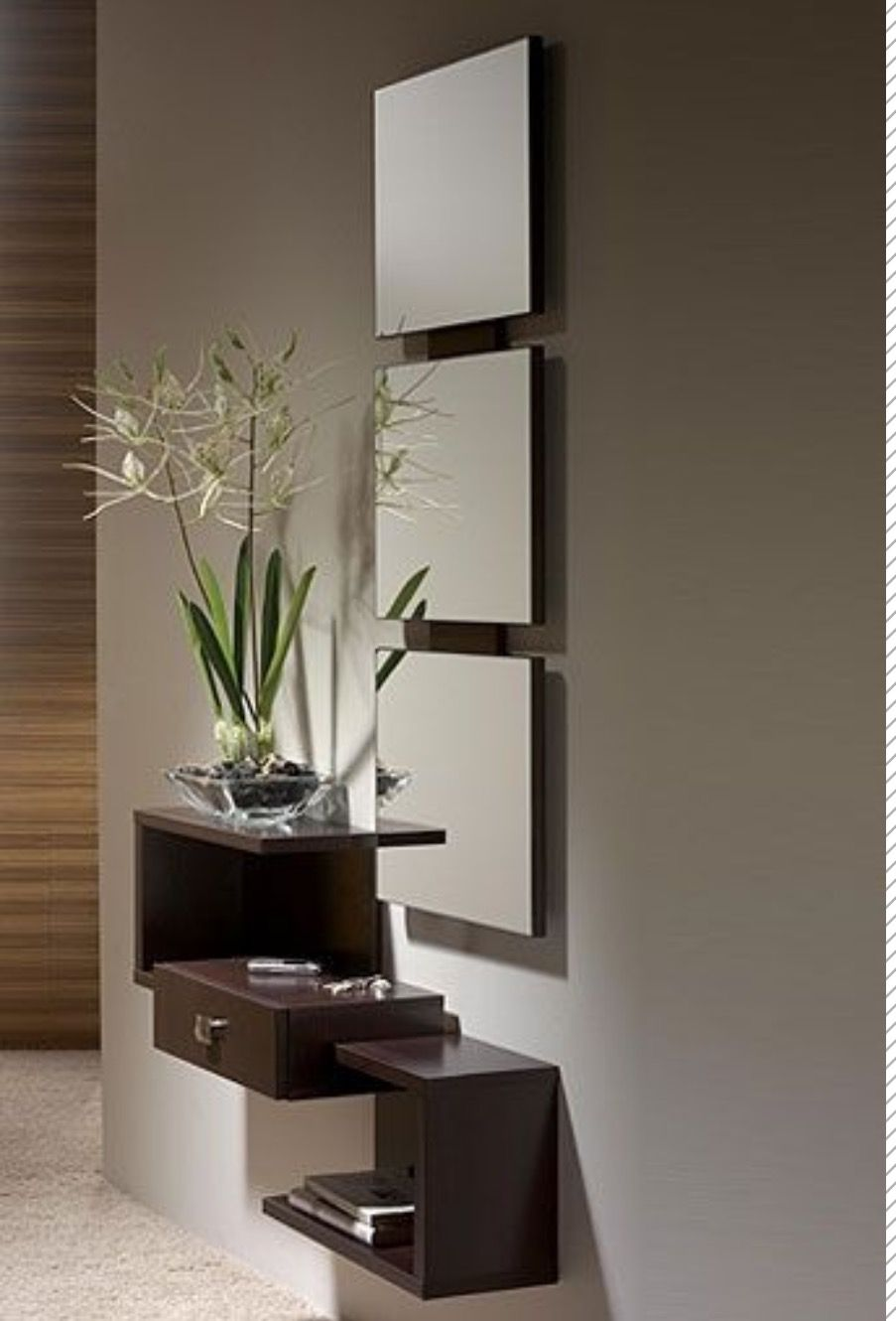 Shelves White Walls And Entry Ways: Arredamento Ingresso Moderno, Arredamento Entrata Casa E Arredamento