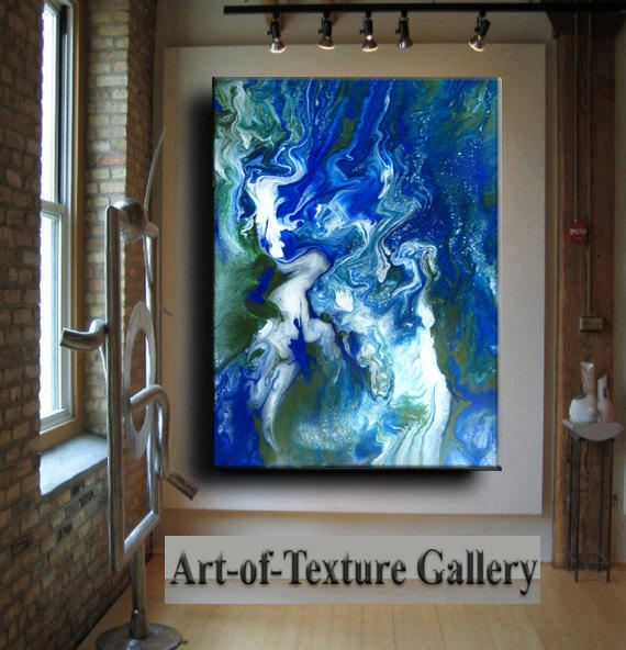 Resin Glass Large to Huge Original Abstract Modern by artoftexture