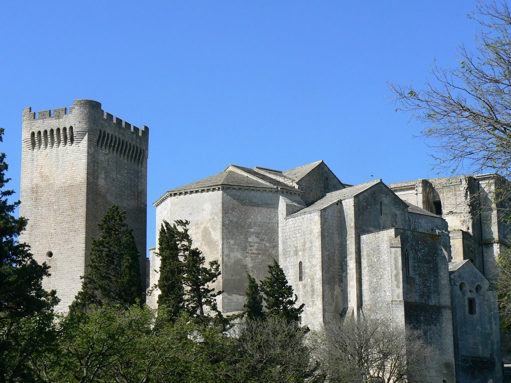 Abbaye De Montmajour Rhone France Where Most Of The Movie The Lion In Winter Was Filmed