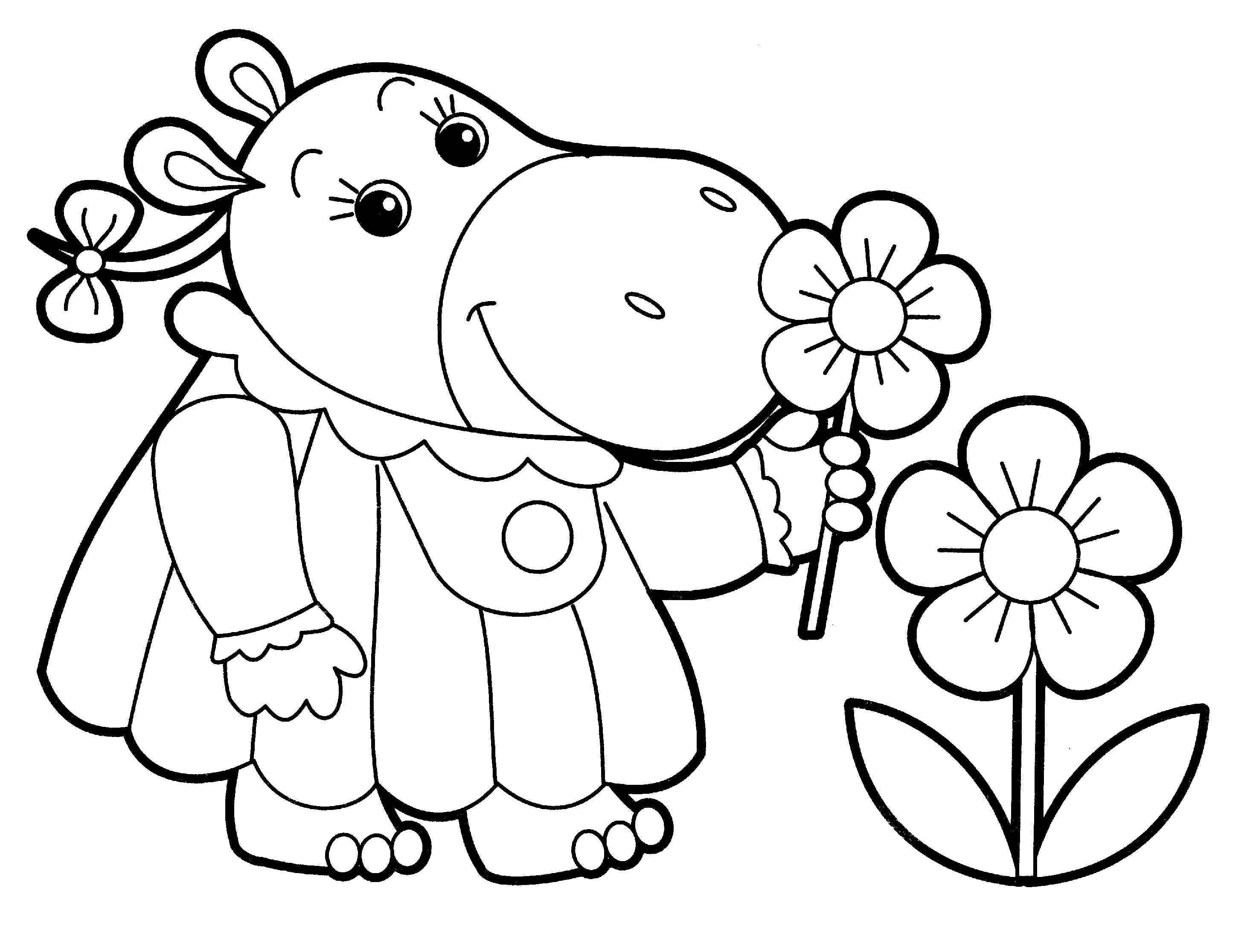 Little People Coloring Pages For Babies 27 Published By