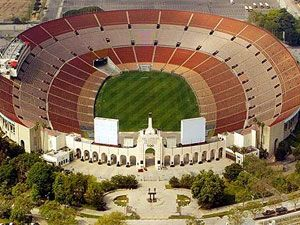 Los Angeles Memorial Coliseum University Of Southern California Trojans Los A Track And Field Events University Of Southern California 1984 Summer Olympics