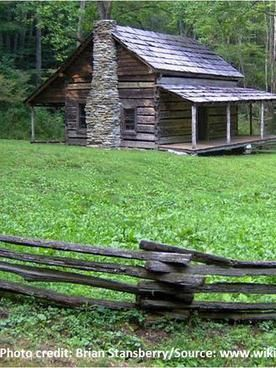daniel cook cabin little cataloochee north carolina circa 1850s rh pinterest com