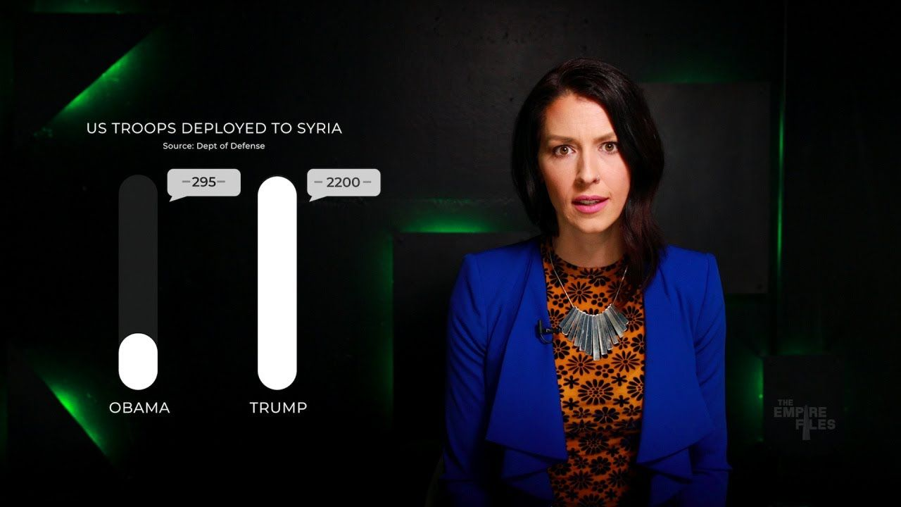 Trump's Syria Deception | WHAT WRONG WITH TRUMP | Syria, Abby martin