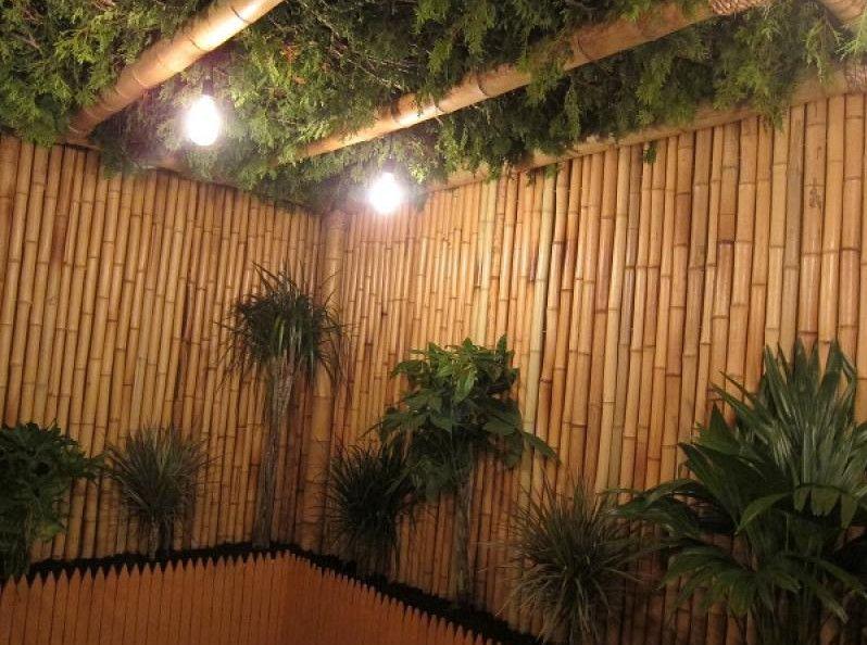Bamboo Vegetable Garden Fence