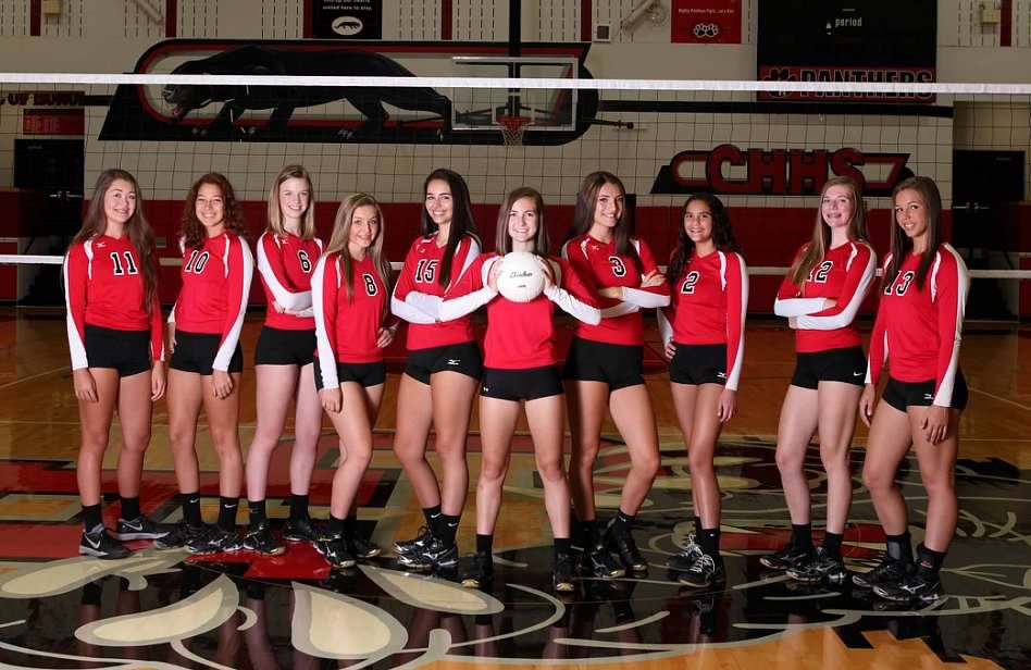Lady Panthers Volleyball Create Photo Personalised Photo Cards Photo Book