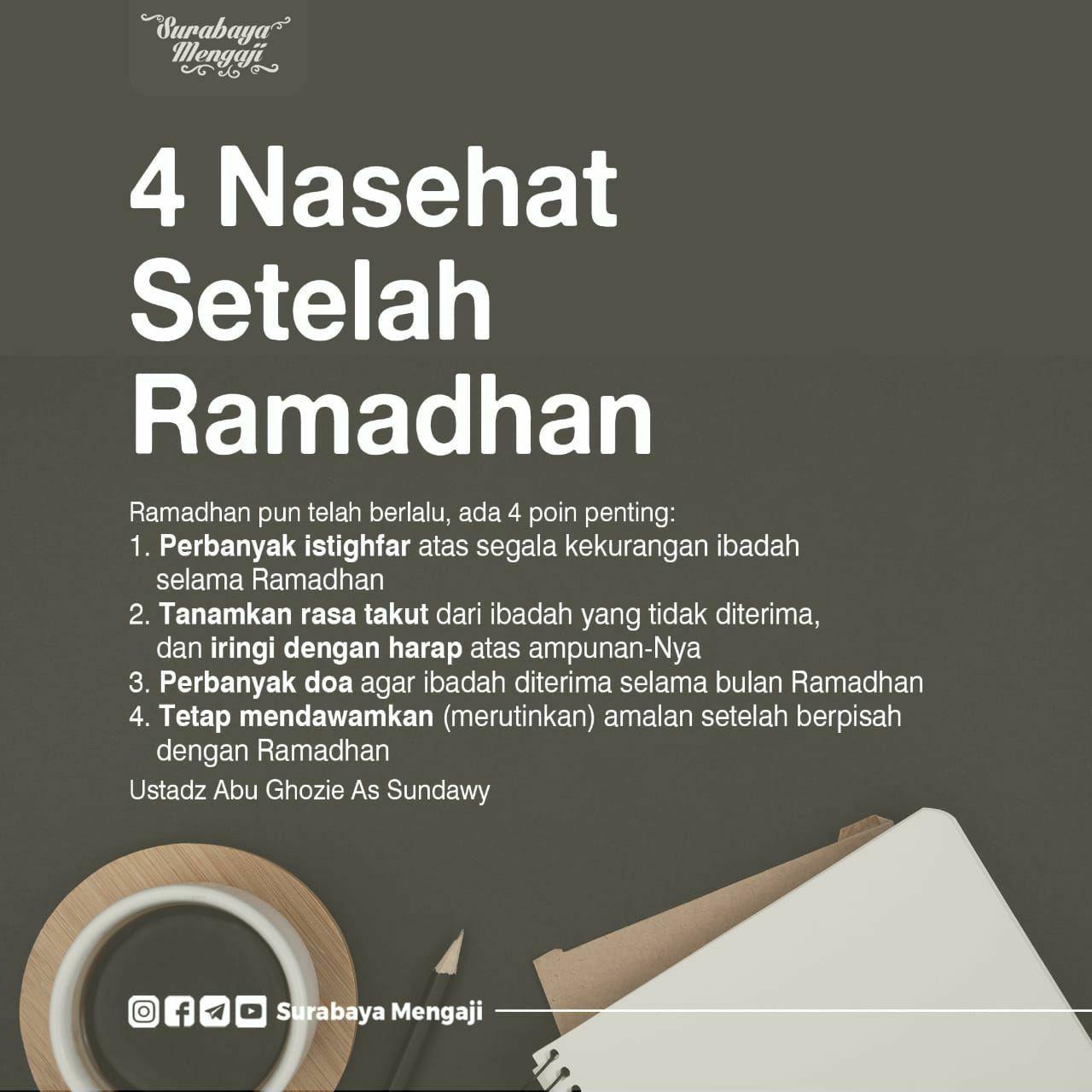 Pin oleh BEKTI HAMBRA di Islam quotes di 2020 Kutipan