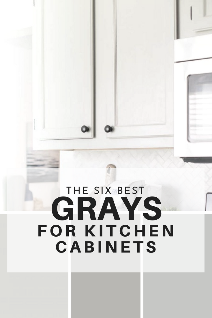 the six best paint colors for gray kitchen cabinets best of making rh pinterest com