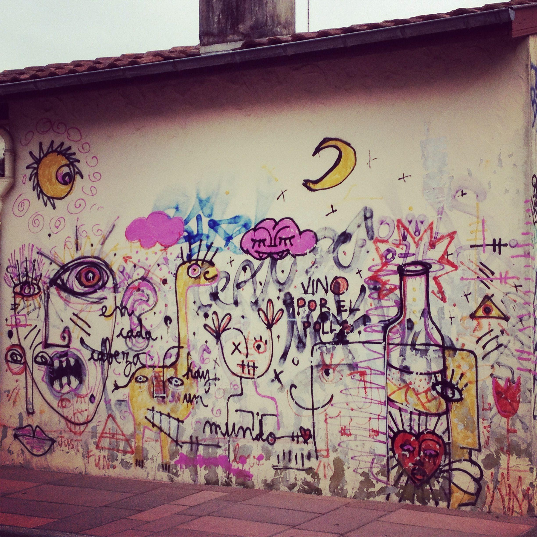Street art from Hossegor (little city near the sea)