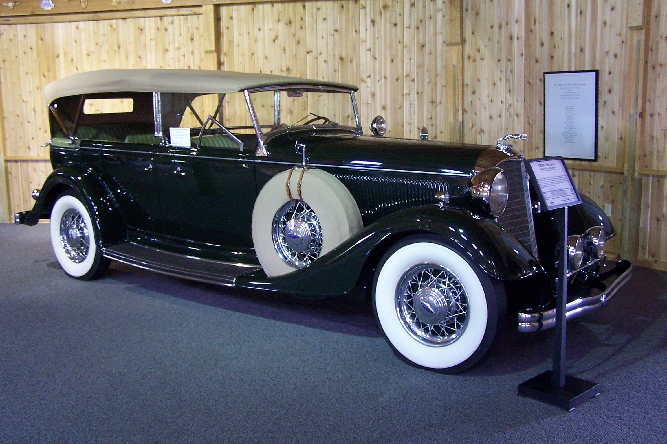 1933 Lincoln Car Museum Antique Cars Car