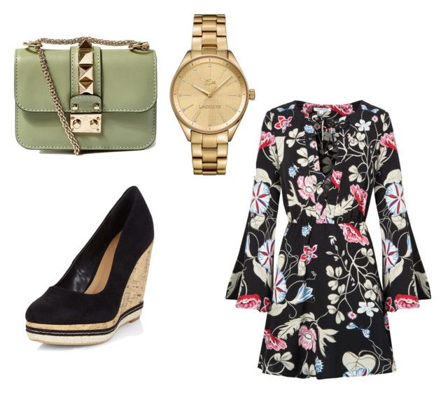 """""""# magnificent 3"""" by isbeautifulgirl on Polyvore featuring beauty, Valentino and Lacoste"""