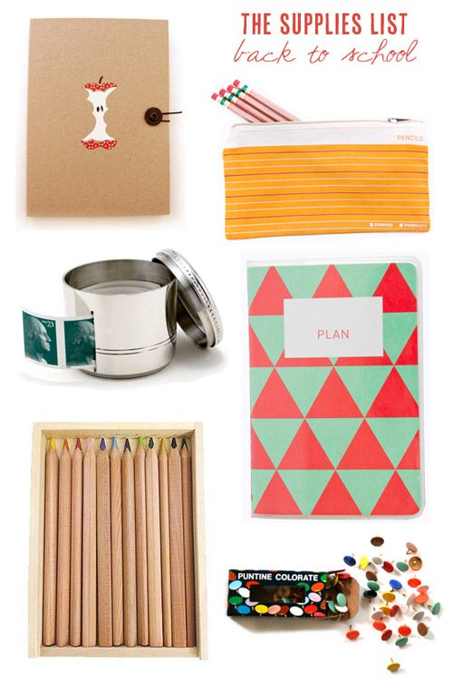 the supplies list back to school for you them diy supply rh pinterest es