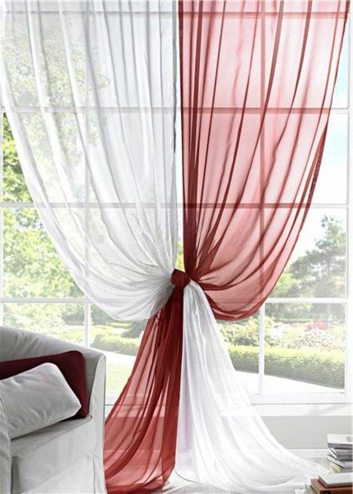 le rideau voilage dans 41 photos d co rideaux. Black Bedroom Furniture Sets. Home Design Ideas