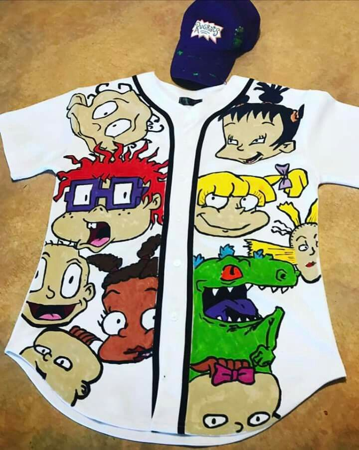 9a7f62207 Rugrats, Tomboy Outfits, Cute Outfits, Baseball Jerseys, Sweater Shirt, 90s  Party