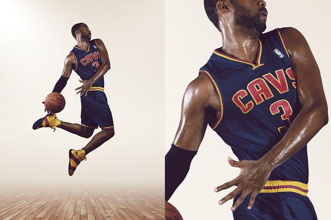 NBA Dunk I Mockup Template Mockup template, Templates