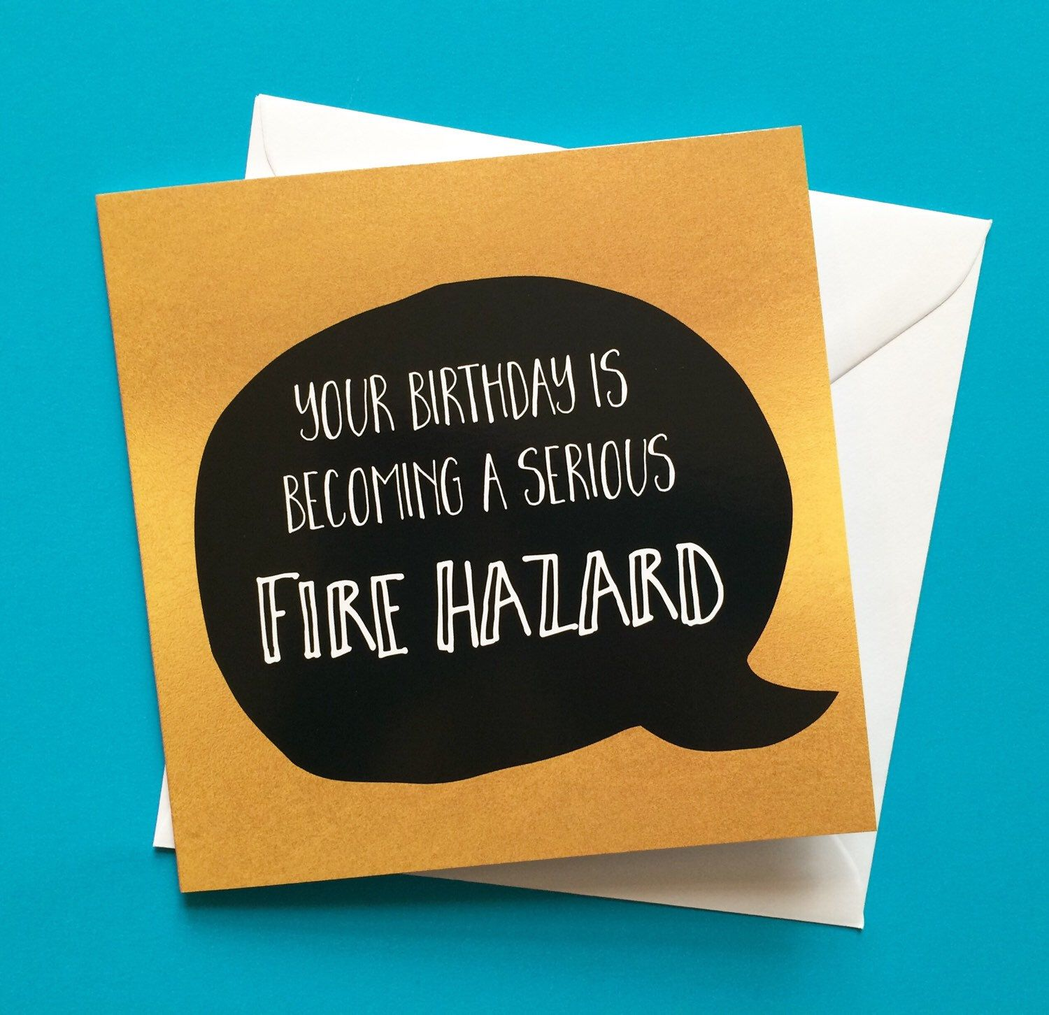 A personal favourite from my etsy shop httpsetsyuk funny birthday card for old people fire hazard by lukannadesigns m4hsunfo