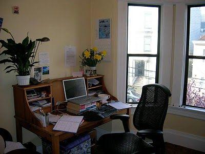 rachel rodriguez i love my home office with its big bay windows rh pinterest com