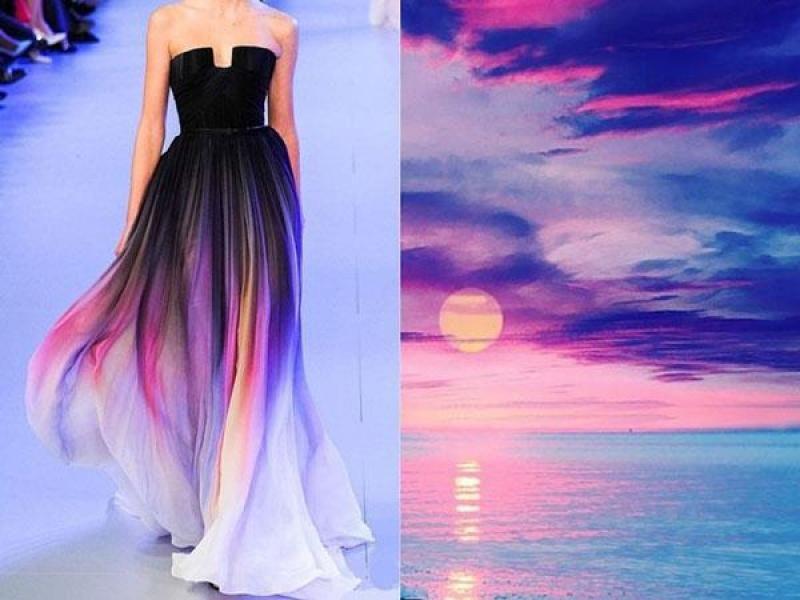 Diseños de vestidos inspirados en la naturaleza. / Instagram | Moda ...