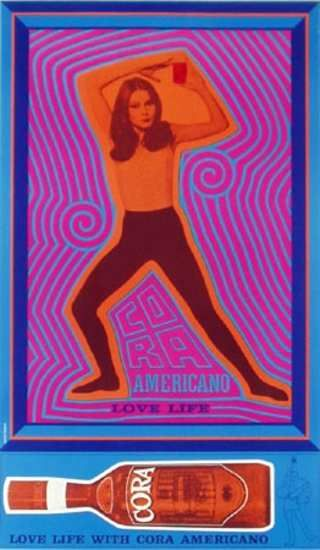 Cora Advertising Poster c1960s