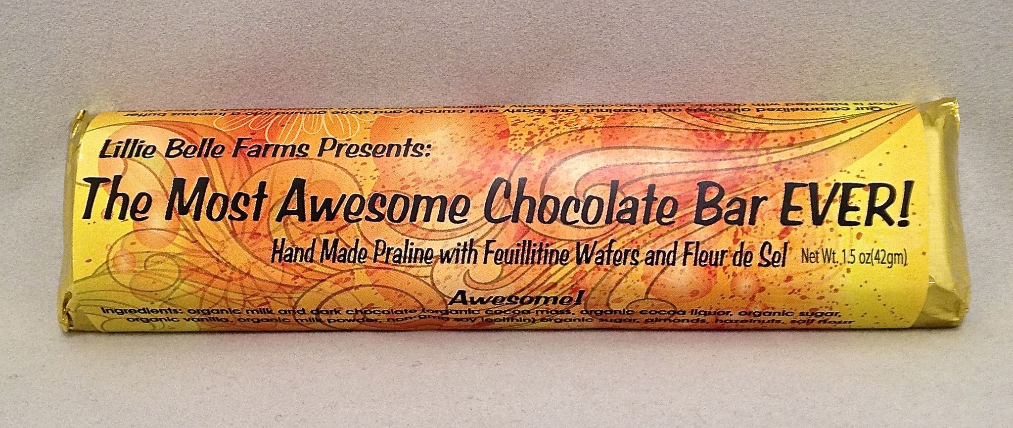 Lillie Belle Farms The Most Awesome Chocolate Bar EVER!