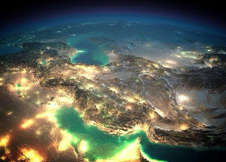 Pin By Hamid On Iran Earth At Night Night On Earth Earth From