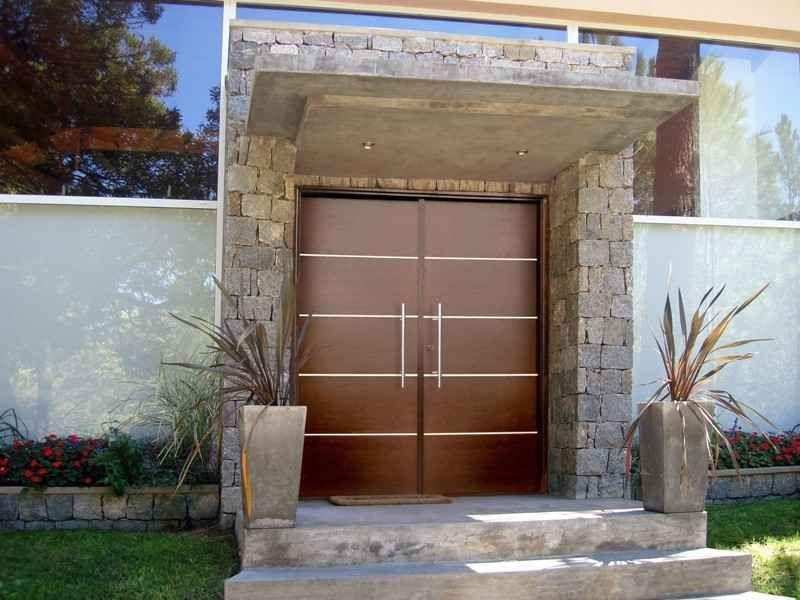 fotos de puertas de aluminio modernas proyectos que