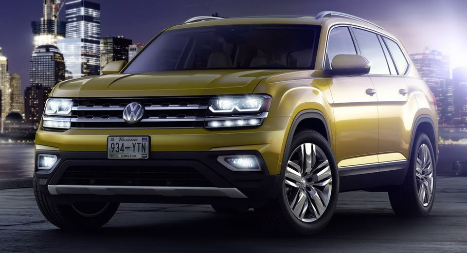 vw atlas suv heading to russia next year with small 2 liter diesel rh pinterest nz