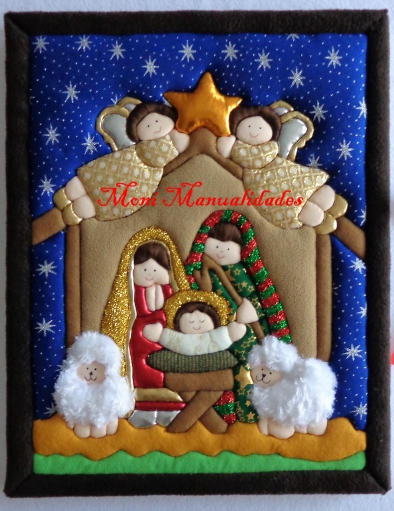 Imagen Relacionada Manualidades Navidenas Cuadros De Navidad Manualidades