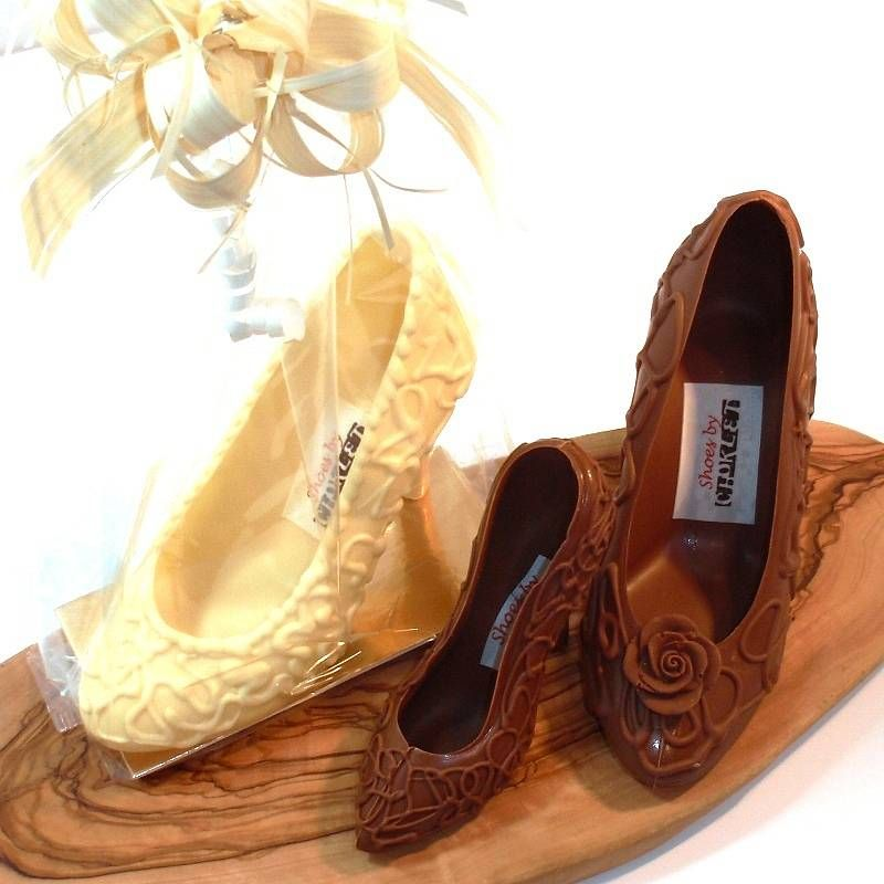 belgian chocolate shoes