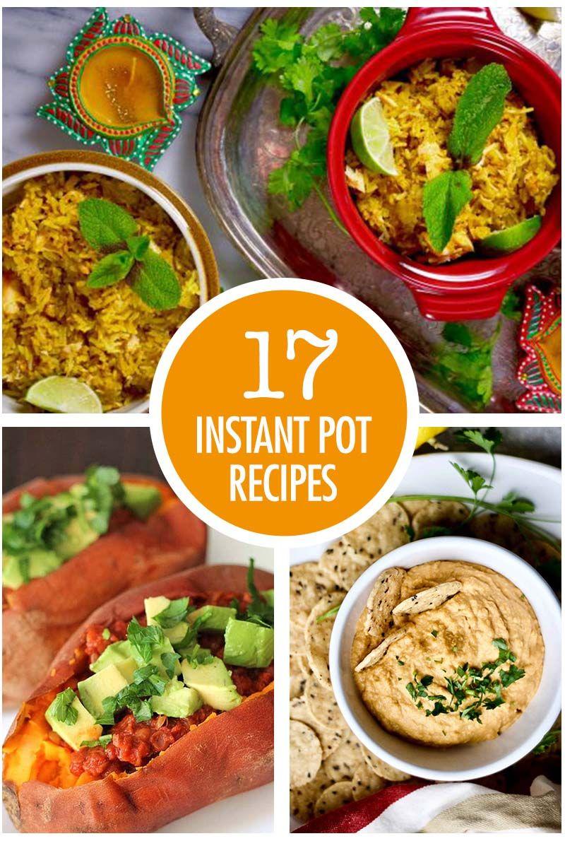 17 Instant Pot Recipe Ideas