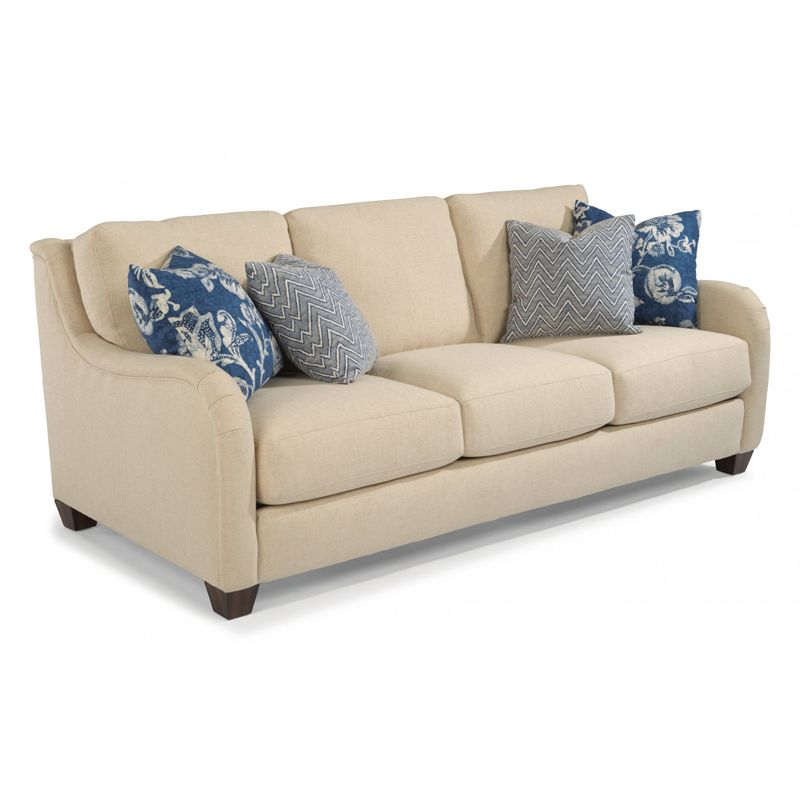 flexsteel 7908 31 fortuna fabric sofa discount furniture at hickory rh pinterest com