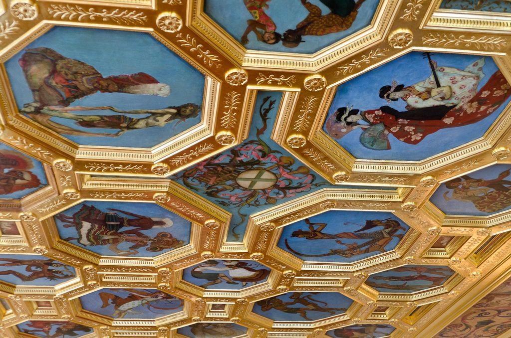 Drawing Room Ceiling Art
