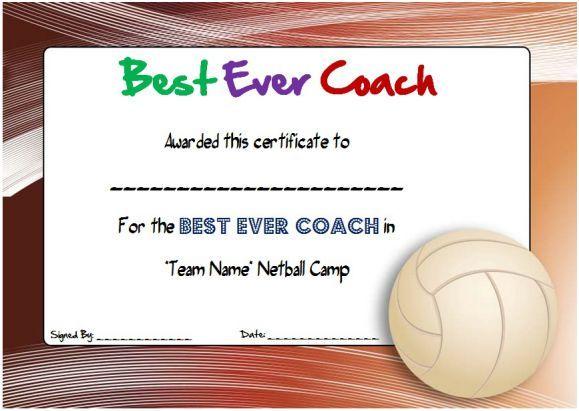 Netball Coaching Certificate Netball Certificates Pinterest