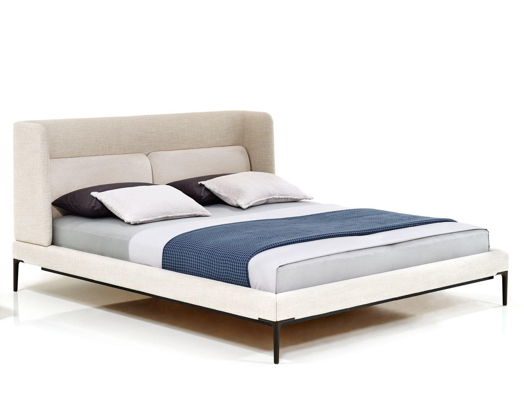 Double bed with high headboard JOYCE NICHE