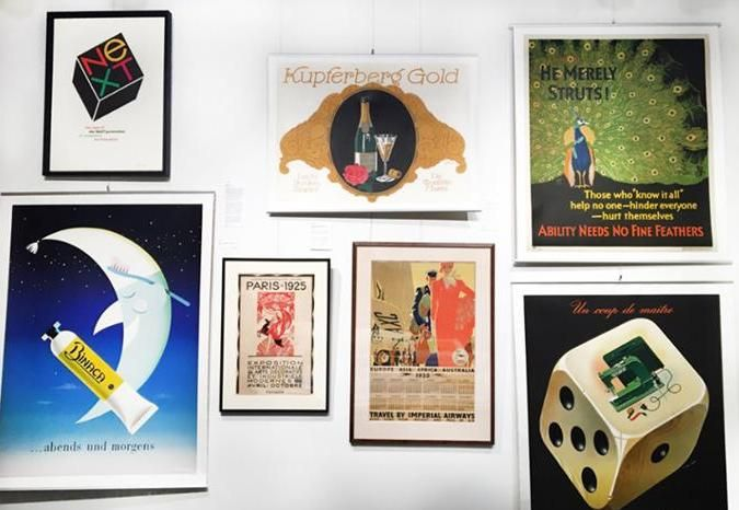 Via ivpda member international poster gallery our gallery manager abigails latest wall design