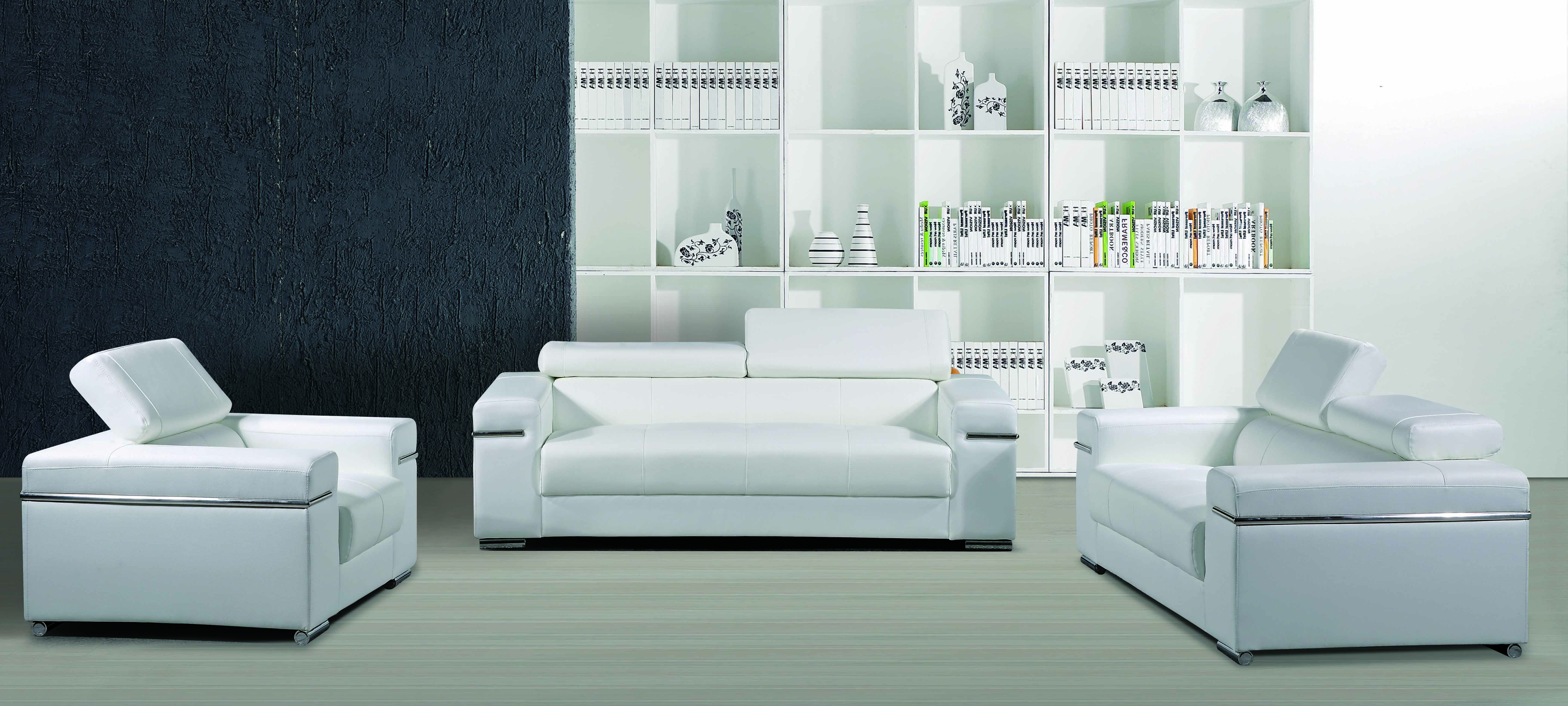leather sofa with 1 2 3 usa style white and black series modern rh pinterest com