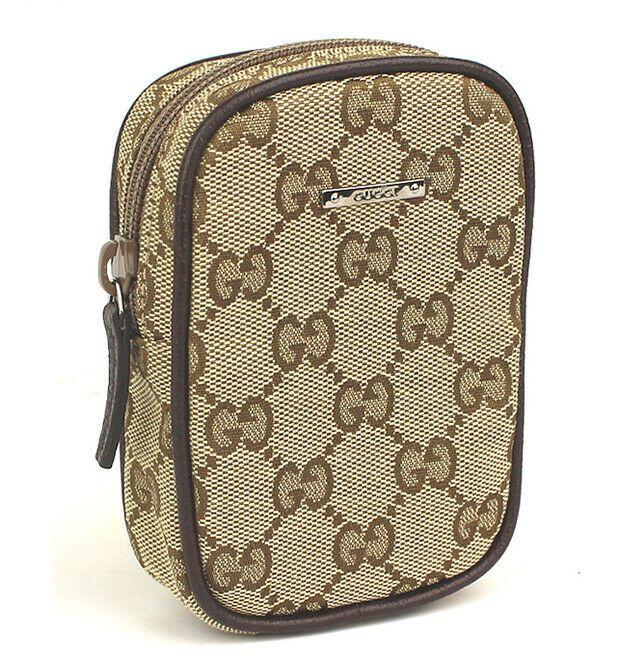 b05e173b917 eBay  Sponsored Gucci GG Canvas Beige Brown Cigarettes Case 115249  44892  free shipping from