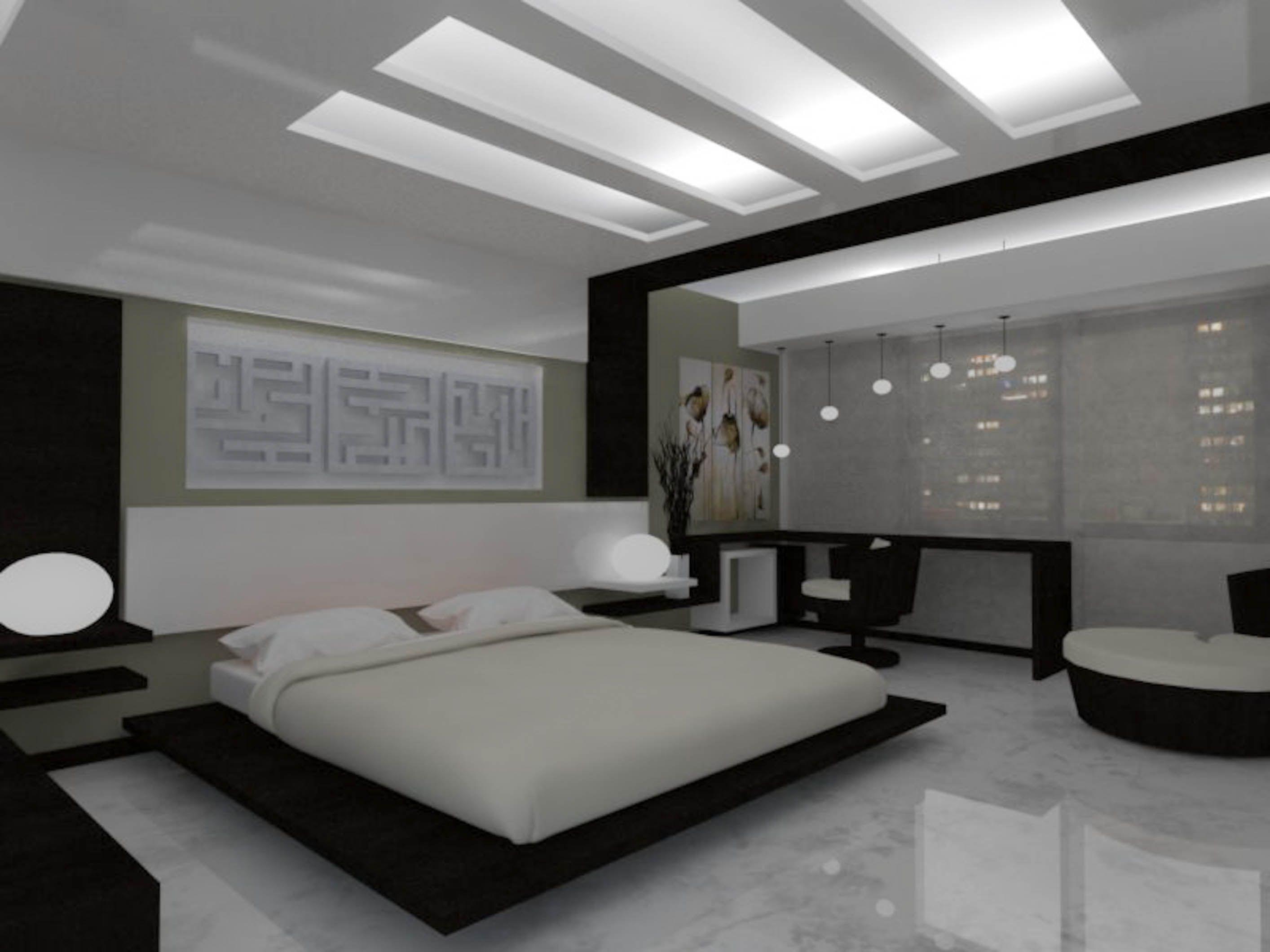 Habitaci n de dise o contemporaneo con toques zen hotel for Diseno de habitacion de estilo contemporaneo