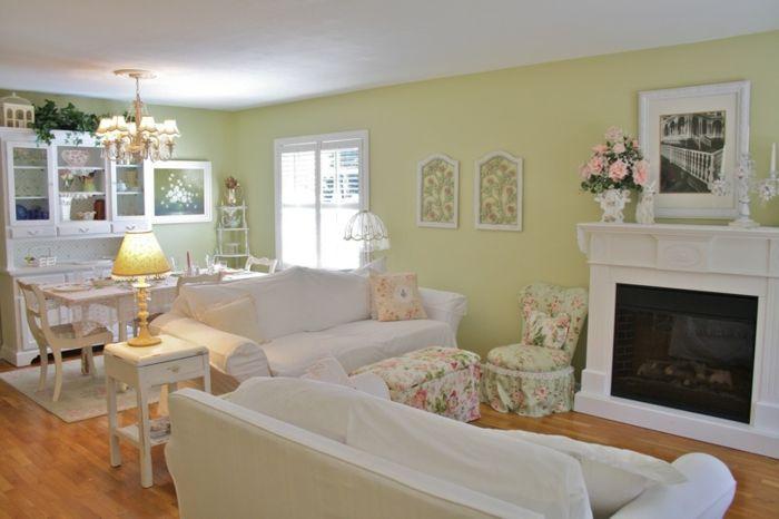 Best Wohnzimmer Landhausstil Gelb Ideas - Globexusa.Us - Globexusa.Us