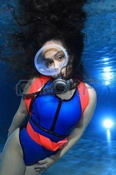 Scuba diving sexy women think already