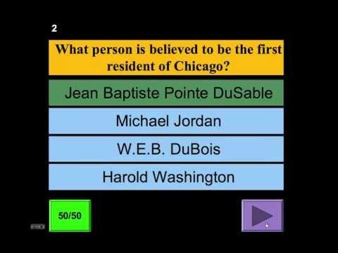 A demonstration of a PowerPoint template I created to play quiz - history powerpoint template