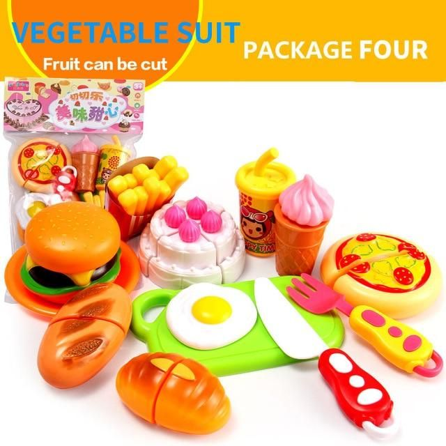 13pcs mini food fruits kitchen pretend play toy educational toys for rh pinterest com