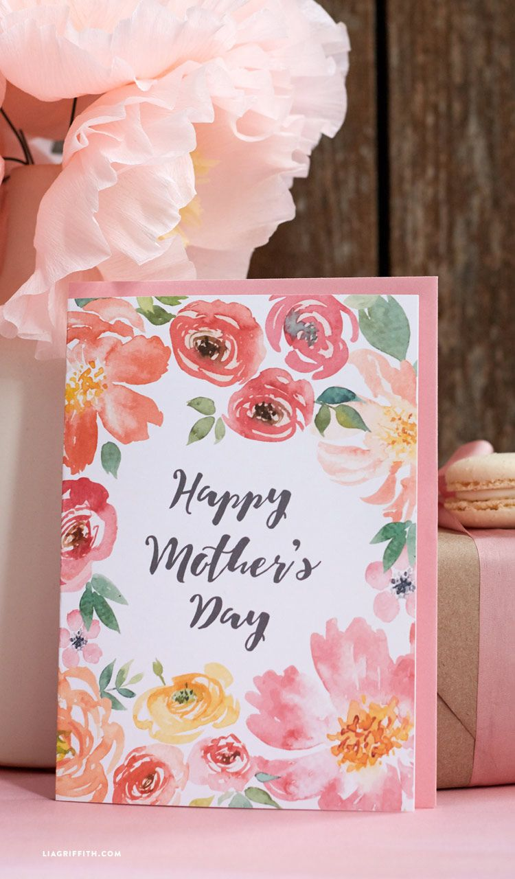 Pretty Printable Mothers Day Cards Designed By Card Ideas