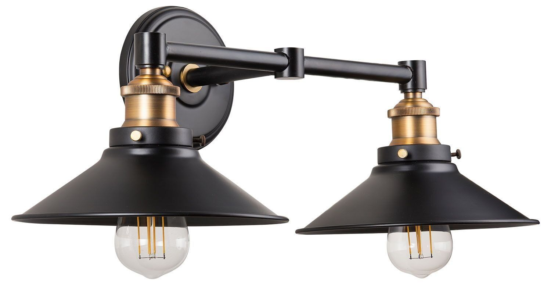 acquah 2 light led vanity light in 2018 home remodel pinterest rh pinterest com