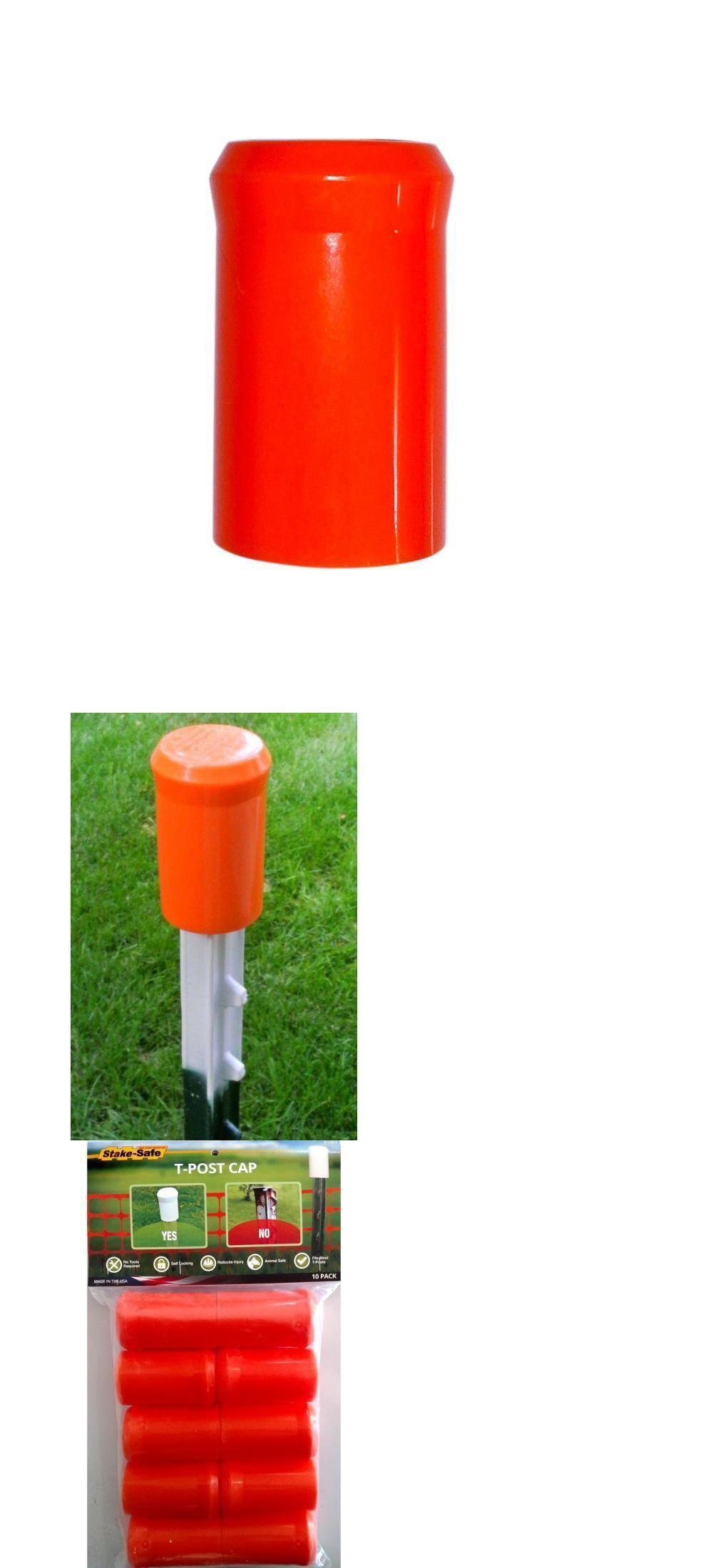 Other Garden Fencing 177033: Stake Safe Orange T-Post High