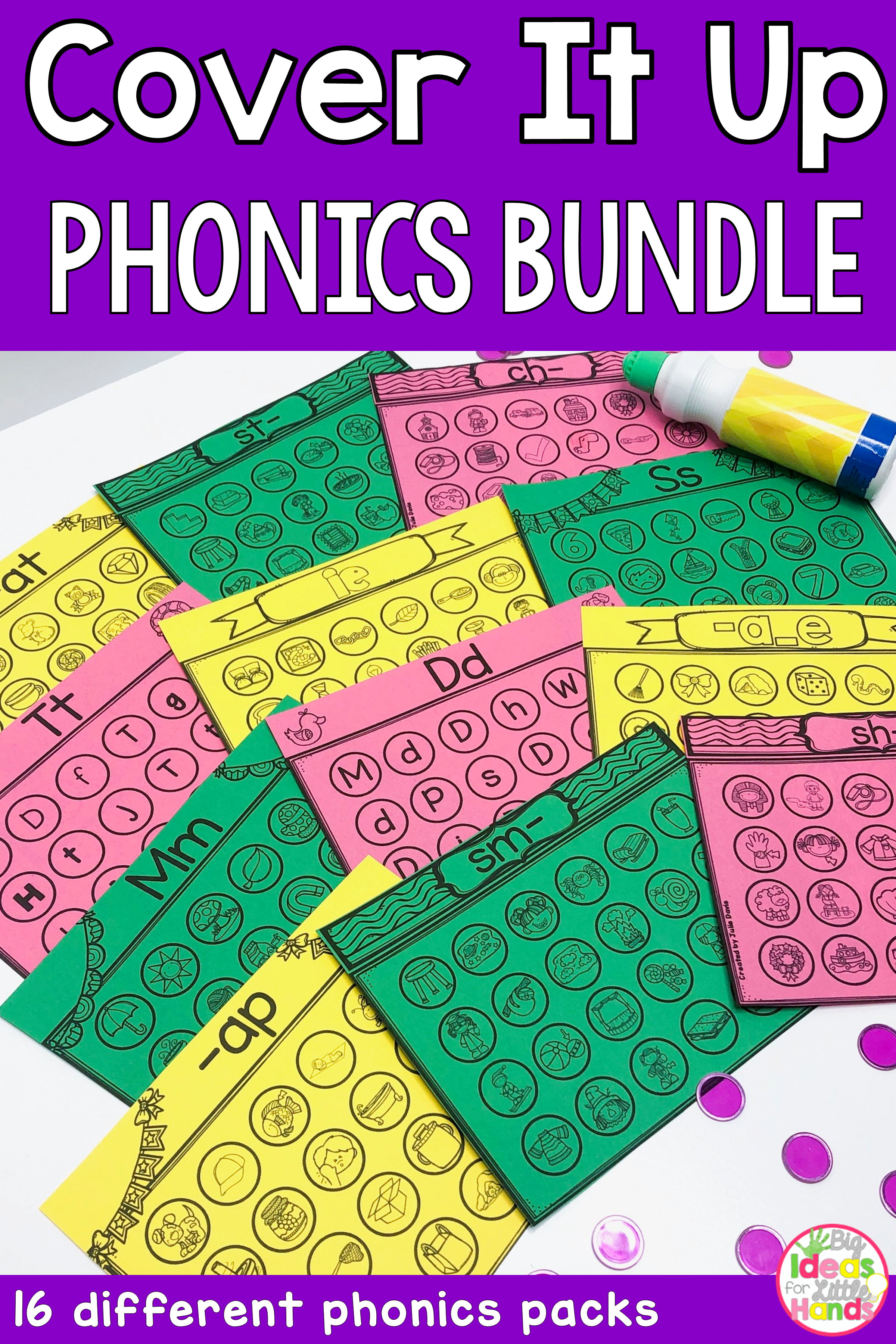 Phonics Bundle Activities And Worksheets