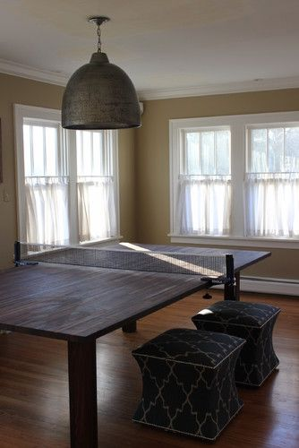 Table Tennis Room Design: Ping Pong Table Design, Pictures, Remodel, Decor And Ideas