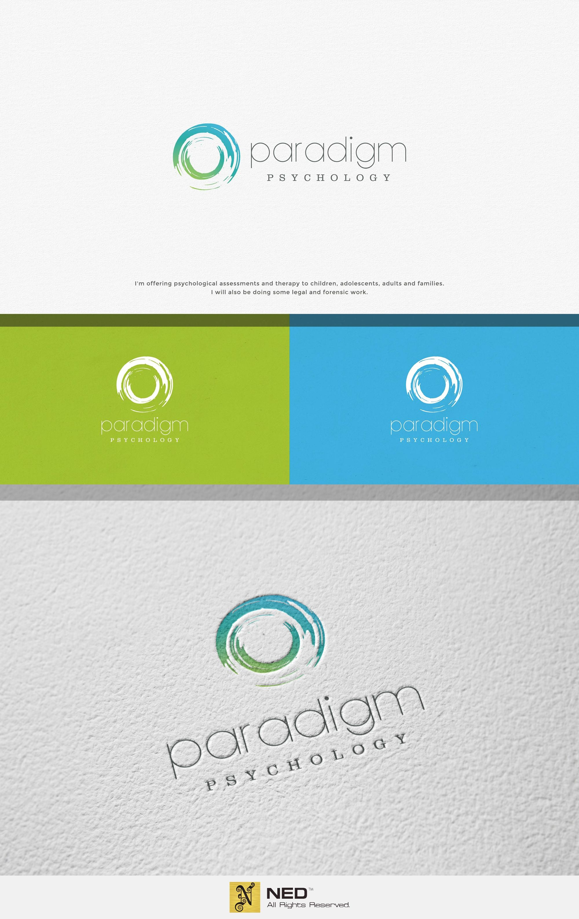 Design #45 by Ned™   Create a strong but warm logo for Paradigm Psychology