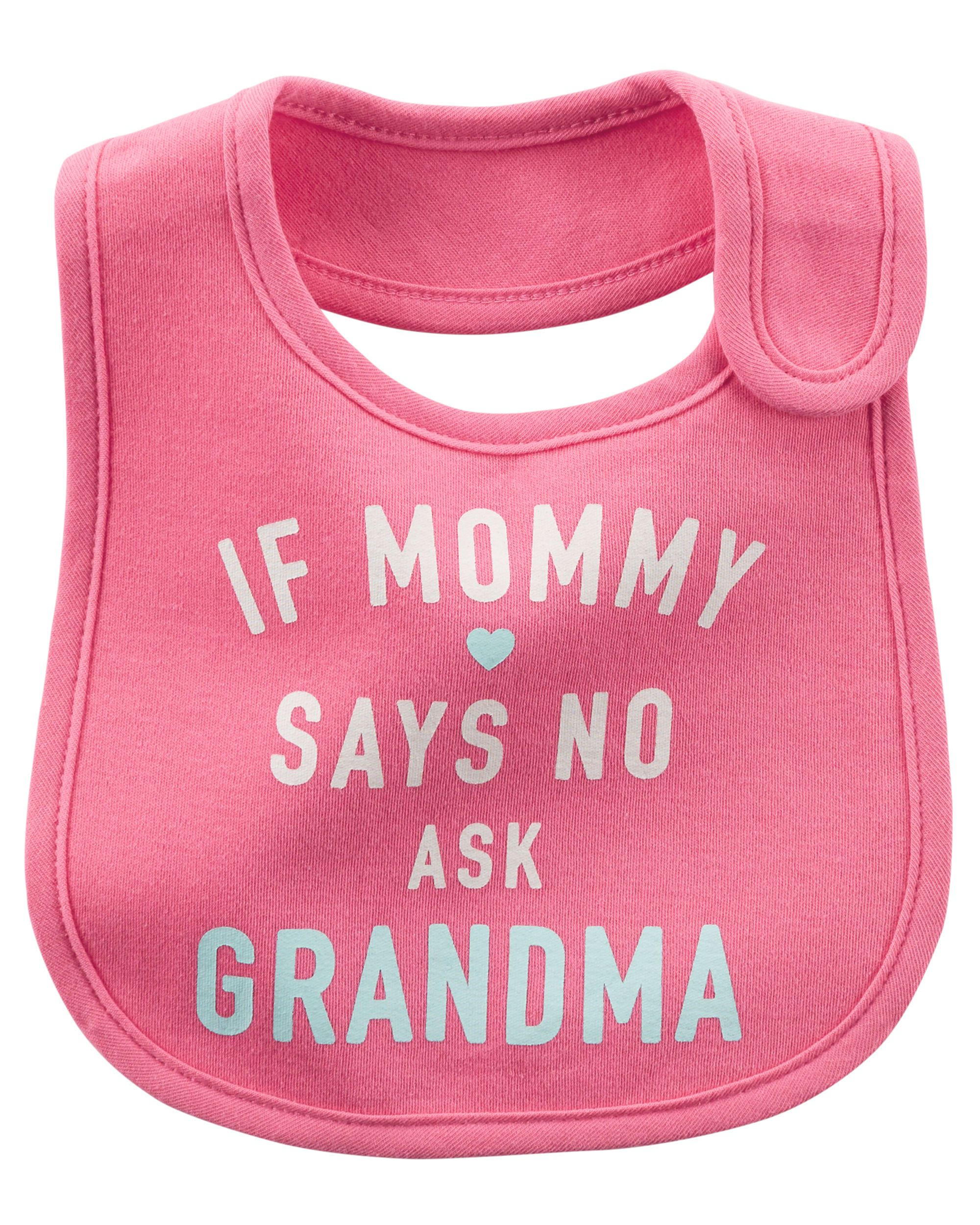 Ask Grandma Teething Bib