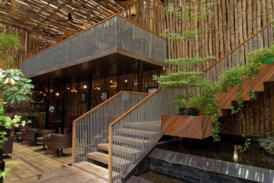 Green Lounge: An Enchanted Sky Garden   Green lounge, Sky ...